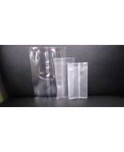 Transparent packaging bag